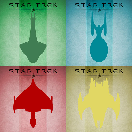 Star Trek Series ($33.72 each)