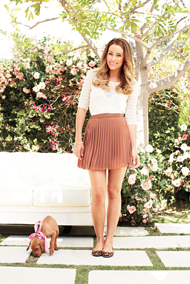 Lauren Conrad Models Her Sweet Fall Line For Kohl's