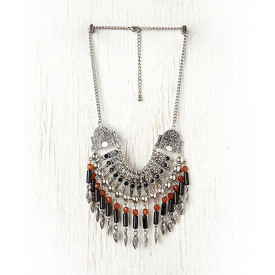 Free People Tribal Stone Bib, $38