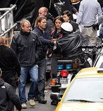 Brad Pitt gets to work on World War Z.