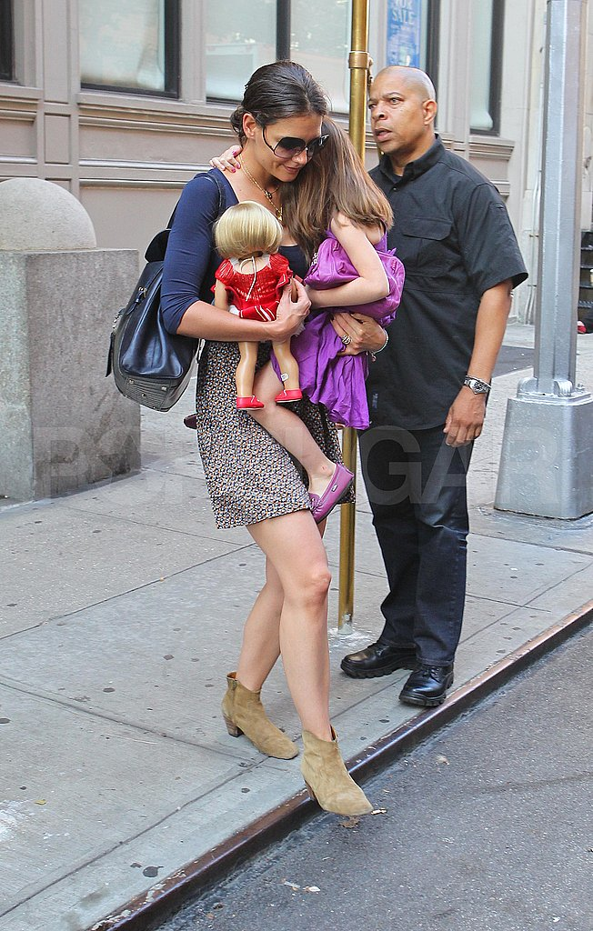 Katie Holmes and Suri Cruise in NYC.