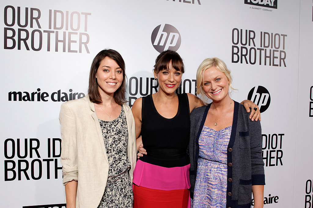 Aubrey Plaza, Rashida Jones, and Amy Poehler