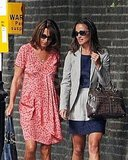 Pippa and Carole Middleton.