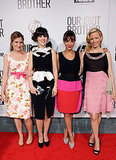 Kathryn Hahn, Zooey Deschanel, Rashida Jones, and Elizabeth Banks