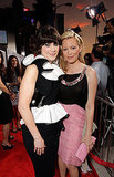 Zooey Deschanel and Elizabeth Banks