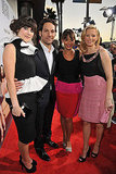 Rashida, Elizabeth, and Zooey Toast Idiot Brother Paul Rudd at Their LA Premiere