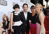 Zooey Deschanel, Paul Rudd, Rashida Jones, and Elizabeth Banks