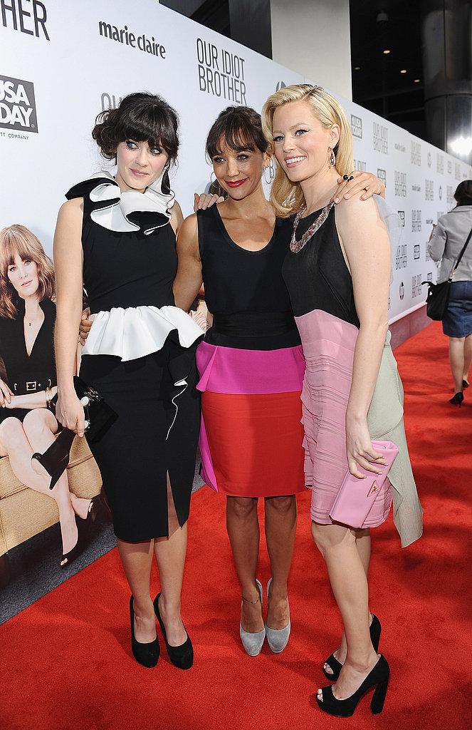 Zooey Deschanel, Rashida Jones, and Elizabeth Banks