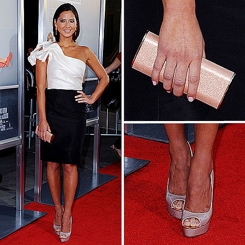 Olivia Munn at Our Idiot Brother Premiere