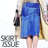 Shop Denim Skirts For Fall 2011