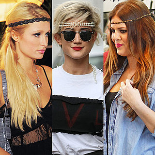 Khloe Kardashian, Paris Hilton and Katie Waissel All Spotted in Hippie Headbands!