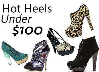 Shop Shoes Online: The Best Heels Under $100. Leopard Print, Platform, Coloured and Snakeskin Styles Ahoy!