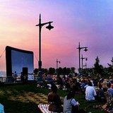 Free Yoga and Movies at Hudson River Park NYC