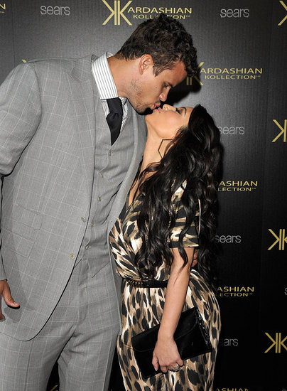 Kim Kisses and Celebrates Her Kollection With Kris Just Days Before Their Wedding
