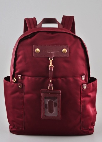 A sleek take on the classic backpack. Marc by Marc Jacobs Preppy Backpack ($228)
