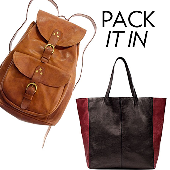 The Best Backpacks and Totes For Back to School!