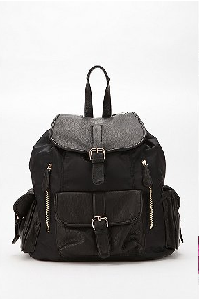 This nylon backpack is perfect for drizzly rainy days. Urban Outfitters Deux Lux Nylon Backpack ($69)