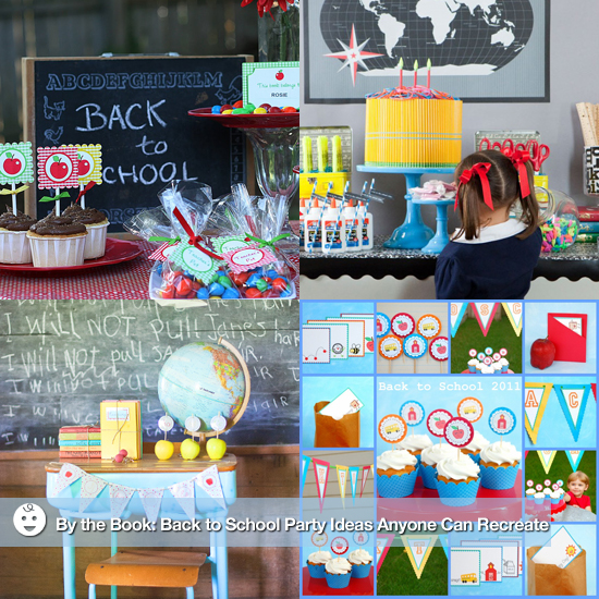 By the Book: Back-to-School Party Ideas Anyone Can Re-Create