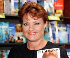 Pauline Hanson to Star on Celebrity Apprentice Australia; Rumours of Geoffrey Edelsten