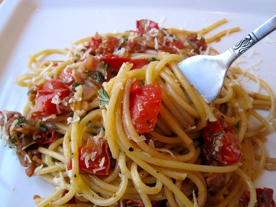 Bacon and Tomato Pasta