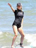 Reese Witherspoon Strikes a Pose and Shows Off Her Surfing Skills in Hawaii