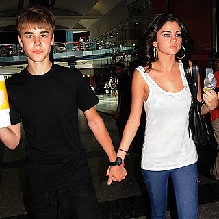 Pictures of Justin Bieber and Selena Gomez in Philadelphia