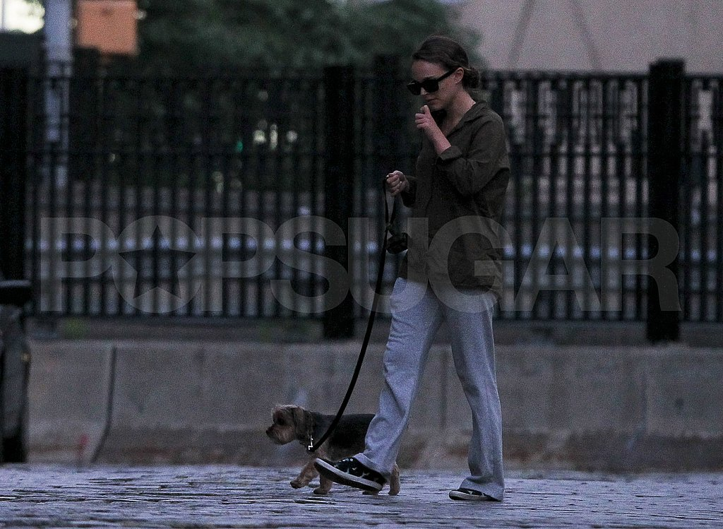 First photos of new mom Natalie Portman in NYC.