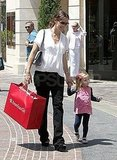 Jennifer Garner, Violet, and Seraphina Spend an Afternoon at the American Girl Store