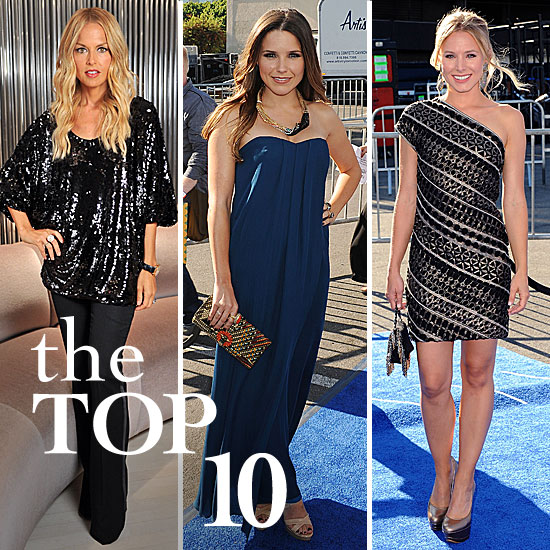 Fab's Top 10 Celebrity Looks of the Week — Pippa, Rachel, Kristen, and More!