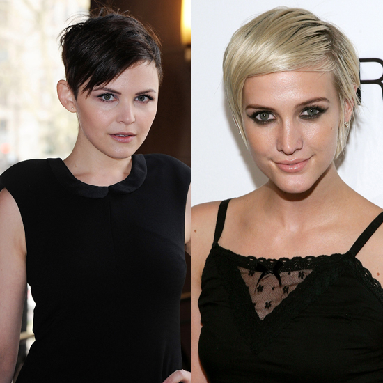 Ginnifer Goodwin and Ashlee Simpson: A Little Edgy