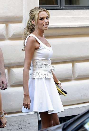 Petra Ecclestone Wears White For a Postwedding Celebration