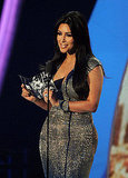 Kim Kardashian at the 2011 MTV VMAs.