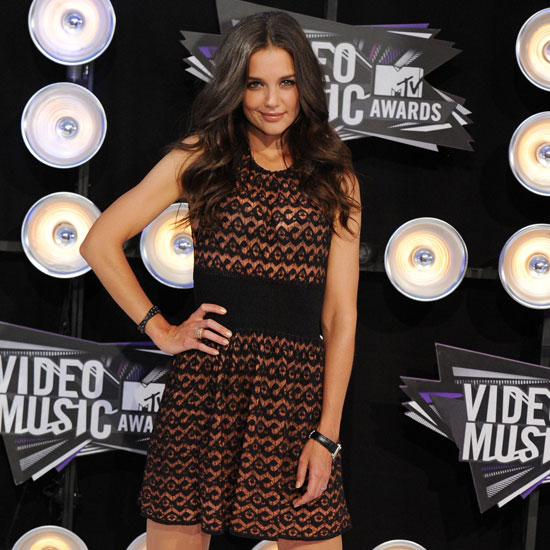 Katie Holmes at the 2011 MTV VMAs 2011-08-28 18:35:36