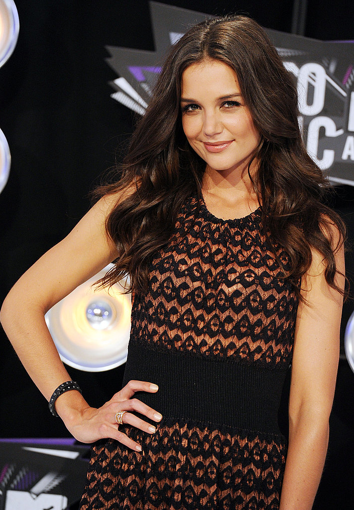 Katie Holmes Celebrates Her Box-Office Hit With an Appearance at the MTV VMAs