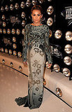 Miley Cyrus Sports a Sexy Backless Roberto Cavalli For VMA Red Carpet