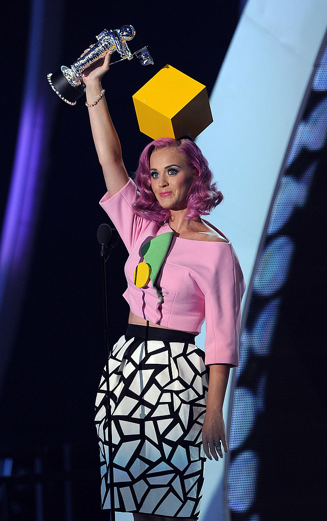 Katy Perry at the 2011 MTV VMAs.