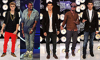 Best Dressed Male Celebrities at the 2011 VMAs