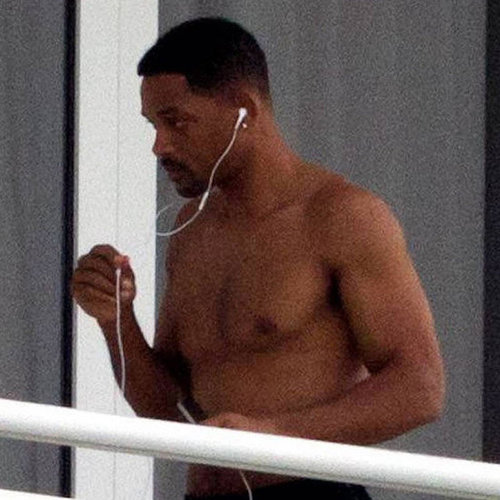 Pictures of Will Smith Shirtless in Miami