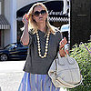 Reese Witherspoon Pictures in LA After Hawaii Vacation