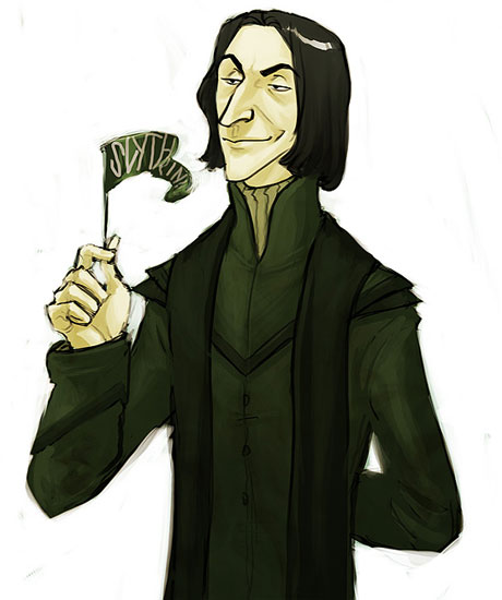 Snape Loves Slytherin
