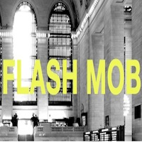 Yoga Flash Mob at Grand Central Terminal NYC