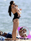 First Pics of Ryan Phillippe's New Baby on the Beach With Mom Alexis Knapp!