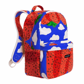 Marimekko Vuori Blue/Red Backpack ($150)