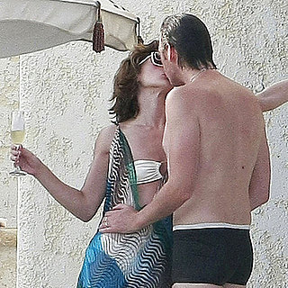 Milla Jovovich in a Bikini With Paul W.S. Anderson Pictures