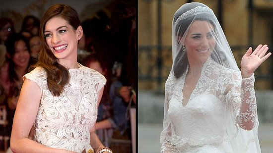 Video: Anne Hathaway Says She'd Like to Play Kate Middleton in a Movie!