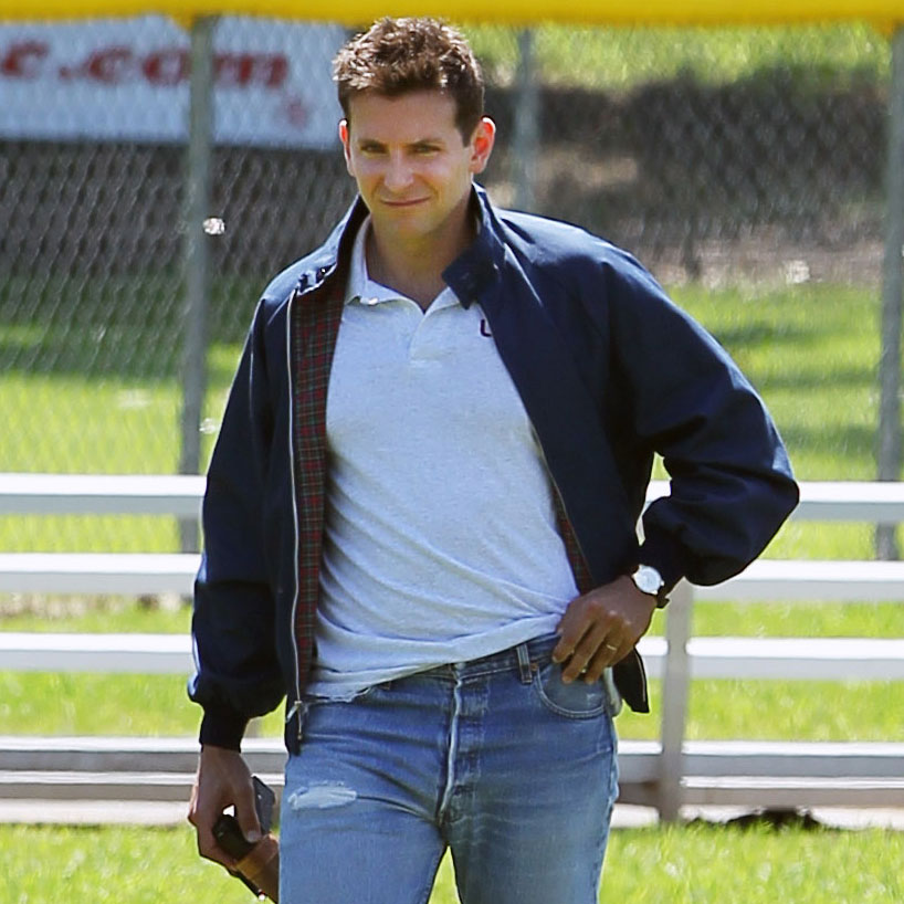 Bradley Cooper looks tough as a cop-turned-politician in the movie.