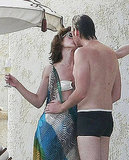Milla Jovovich and Paul W.S. Anderson kissed