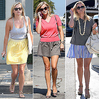 Reese Witherspoon Wearing Wren Skirts