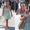 Nicky Hilton Sheer Dress Street Style