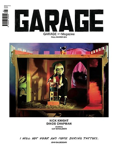 A First Look at all Three Covers from Dasha Zhukova's New Garage Magazine (NSFW)